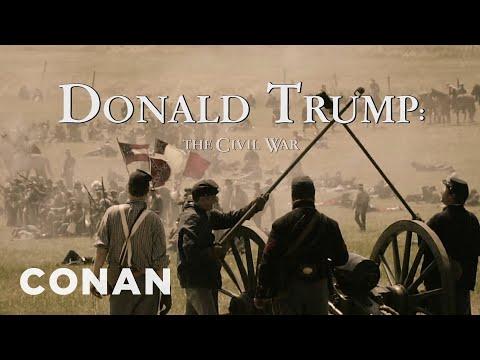 The Civil War – A Film By Donald Trump | CONAN on TBS