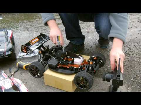HPI Trophy 3.5 - Previously we did the first tank of breaking in. I waited for a nicer day to complete all 5 tanks because as you know, engine break in is pretty time consumi...