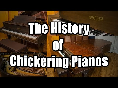 chickering piano - http://livingpianos.com/pianos/the-history-of-chickering-pianos/ https://www.facebook.com/livingpianos Chickering & Sons pianos is one of the oldest, America...