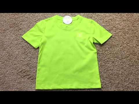 Премиум стильная детская футболка видео