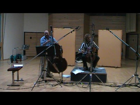 play video:Ralph Rousseau Hein Van de Geyn recording session