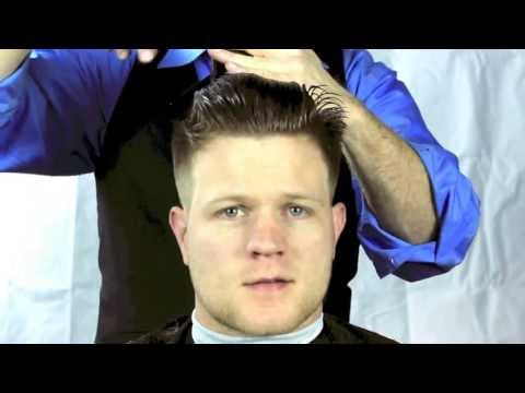 How to Cut a Short Men's Pompadour Haircut or Tight Tapered Haircut