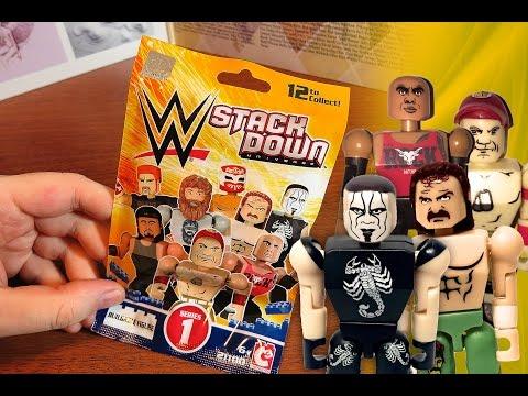 WWE StackDown blind bag (Sting? Roberts? Rock? Cena?)