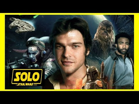 OFFICIAL HAN SOLO MOVIE TRAILER INFO!! + NEWS