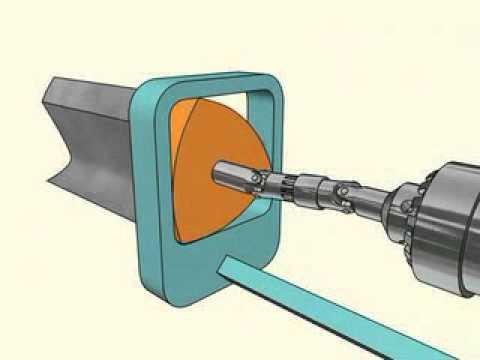教你用電鑽鑽出方型孔!