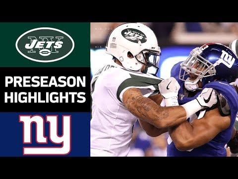 Jets vs. Giants | NFL Preseason Week 3 Game Highlights - Thời lượng: 10:43.