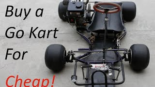 Go Kart Buyer's Guide- Old Racing Karts!
