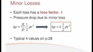 Fluids Lecture 3.2 - Minor Losses (S2)