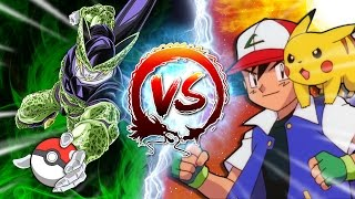 Cell Vs Ash Ketchum #CellGames | TeamFourStar