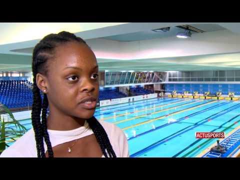 Khwezi Duma: a promising female swimmer