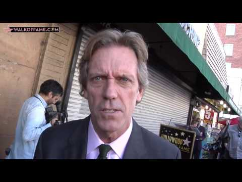 Hugh Laurie Walk of Fame Ceremony