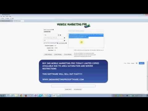 SMS MOBILE MARKETING PRO – IQ Software Systems