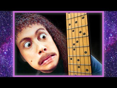 Kirk Hammett Learns Guitar (видео)