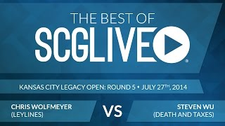 Best Of SCGLive 2014 - Chris Wolfmeyer Vs. Steven Wu [Magic: The Gathering]