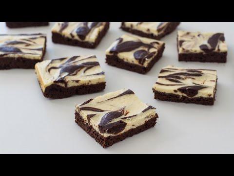 Cream Cheese Marbled Brownies Recipe