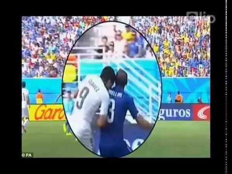 Clip nhạc chế về pha cắn người của L Suarez ở World Cup 2014