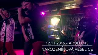 Video 12.11.2016 - Apollo13 - Narozeninová veselice (4K)