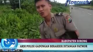 Video AKSI POLISI GADUNGAN BERAKHIR DIPOLRES SORONG MP3, 3GP, MP4, WEBM, AVI, FLV Juni 2018