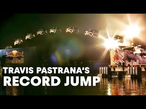 Travis Pastrana jumps 269 feet in rally car%21  %28HD%21%29