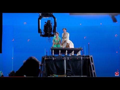 Aladdin 2019 Behind the scenes On Set