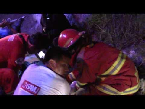 SERENOS DE LA MUNICIPALIDAD DISTRITAL AUXILIARON HERIDOS DE ACCIDENTE DE TRÁNSITO