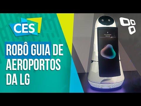 As soluções inteligentes para aeroportos da LG - CES 2017 - TecMundo