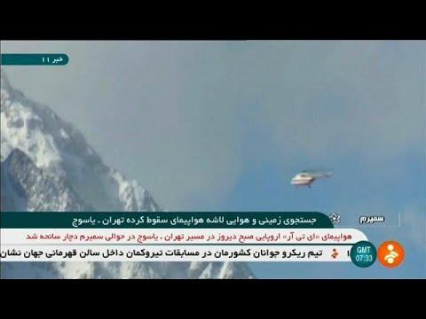 Iran: Nach Absturz Maschine der Aseman Air gefunden