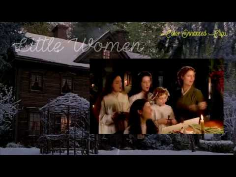 """Little Women 1994 Film - """"Gloria/ In Excelsis"""" (Color Enhanced Clips) HD"""