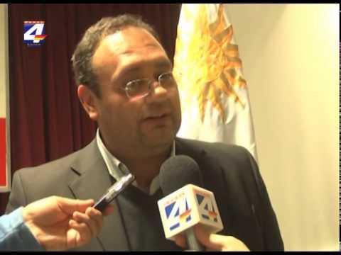 Intendente Caraballo electo presidente del Comité de Hidrovía