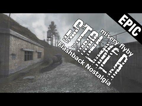 Stalker COP atmospheric nostalgic flashback - stalker misery2  flyby 8K (видео)