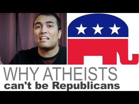 Republicans - Why atheists CAN'T BE Republicans Hemant Mehta (http://www.friendlyatheist.com, http://www.patreon.com/Hemant) http://www.patheos.com/blogs/friendlyatheist/2...