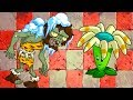 Download Video ЗОМБИ против РАСТЕНИЙ #2 - Plants vs Zombies игра про мультик #КРУТИЛКИНЫ #КИД