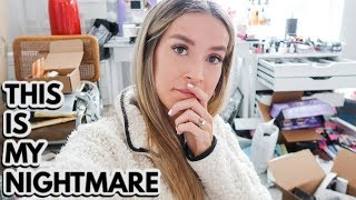 HUGE NEWS + DECLUTTERING THE MAKEUP ROOM + GRANT'S BIRTHDAY  | leighannvlogs by Leigh Ann Says