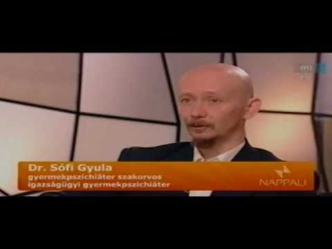Dr. Sófi Gyula az M1 Nappali adásában az ADHD-ról