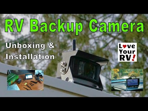 Backup Camera and Car Monitor Camera Wired and Waterproof For ...