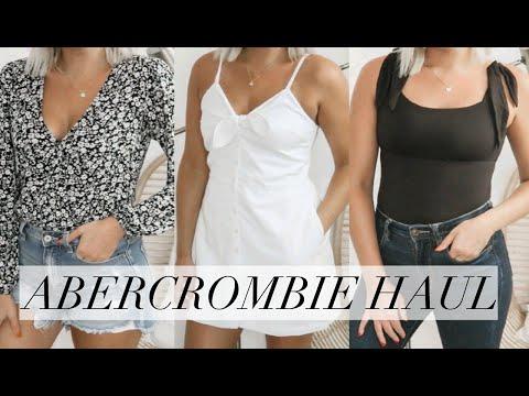 ABERCROMBIE CLOTHING HAUL