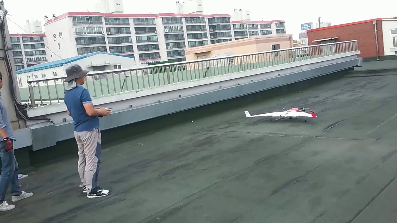 FireFly6 옥상 이륙 테스트 비행