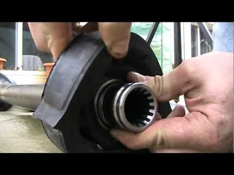 Drive shaft bearing replacement  ( volvo 240 )