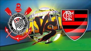 Corinthians x Flamengo I Campeonato Brasileiro 07ª RODADA I PES 2015. Melhores momentos, dribles, Gols. Brasileirão 2015...