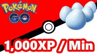 Pokémon GO Farming XP 1,000 Per Minute by Pokémon GO Gameplay