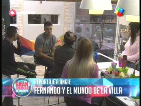 Fernando se interesa en Angie o es estrategia GH 2015 #GH2015 #GranHermano