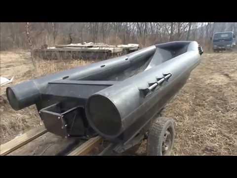Как сделать лодку из трубы пвх