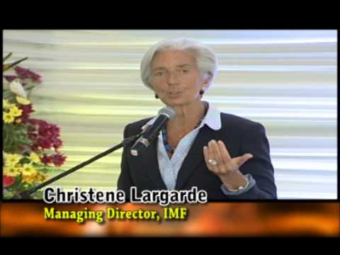 Luncheon presentation by IMF's Managing Director Christene Largarde - Your Wealth - July 6, 2014
