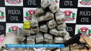 Aumenta o tráfico de drogas na região de Bauru