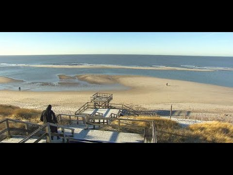 Kein Sand am Meer: An den Sylter Stränden wird der  ...