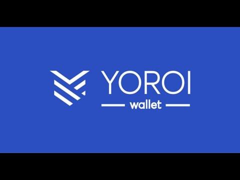 Tutorial - Carteira Yoroi da Cardano: Criação/Restauração de carteira e staking no Chrome ou Brave.
