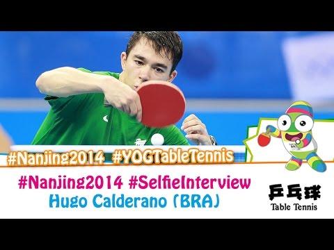 #Nanjing2014 Selfie Interview – Hugo Calderano (QF)