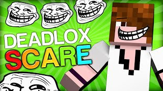 SCARING DEADLOX, HIS CAT AND FACECAM - Minecraft Trolling Youtubers with Minecraft Mods (Scare)