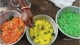 Cooking Muti Color VILLAGE NOODLES in Our Farm - Using Veg Colors