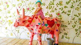 Песенки Потешки для детей и малышей Старый Макдональд Old Macdonald Nursery Rhymes songs for Children and...